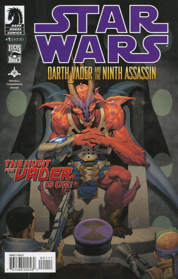 STAR WARS DARTH VADER AND THE NINTH ASSASSIN #1