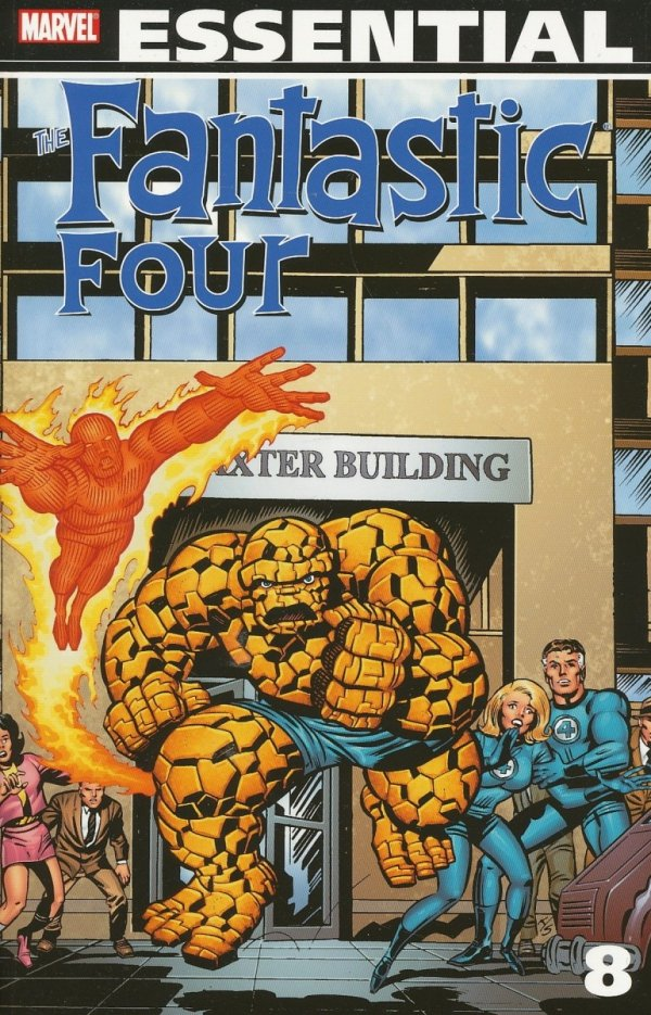ESSENTIAL FANTASTIC FOUR VOL 08 SC *