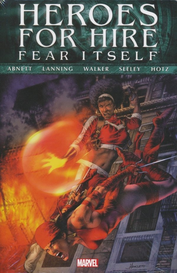 FEAR ITSELF HEROES FOR HIRE HC