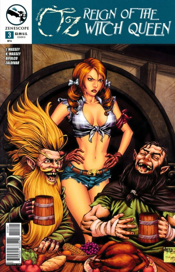 GRIMM FAIRY TALES OZ REIGN OF WITCH QUEEN #3 CVR D