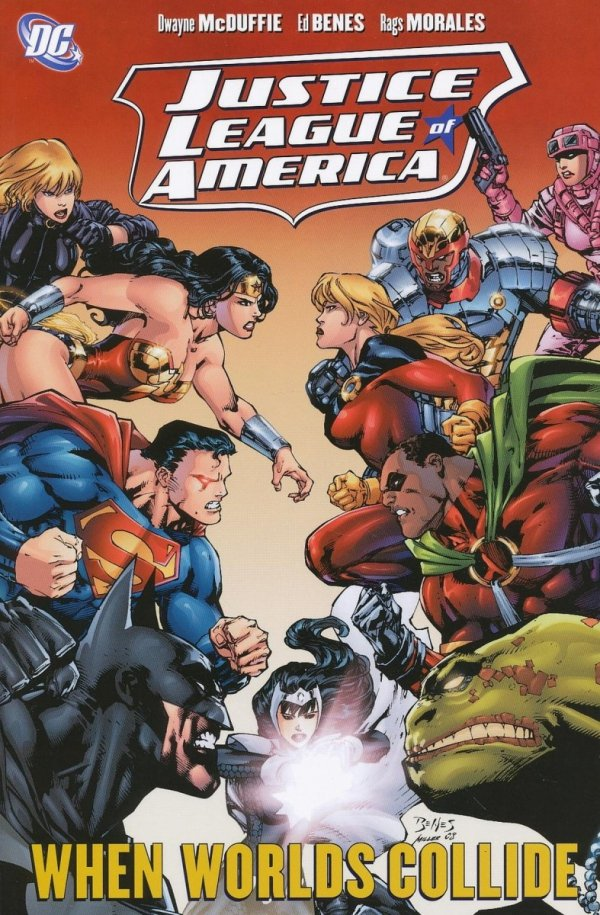JUSTICE LEAGUE OF AMERICA WHEN WORLDS COLLIDE SC