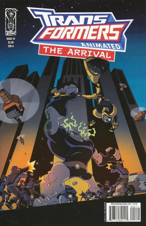 TRANSFORMERS ANIMATED ARRIVAL #2