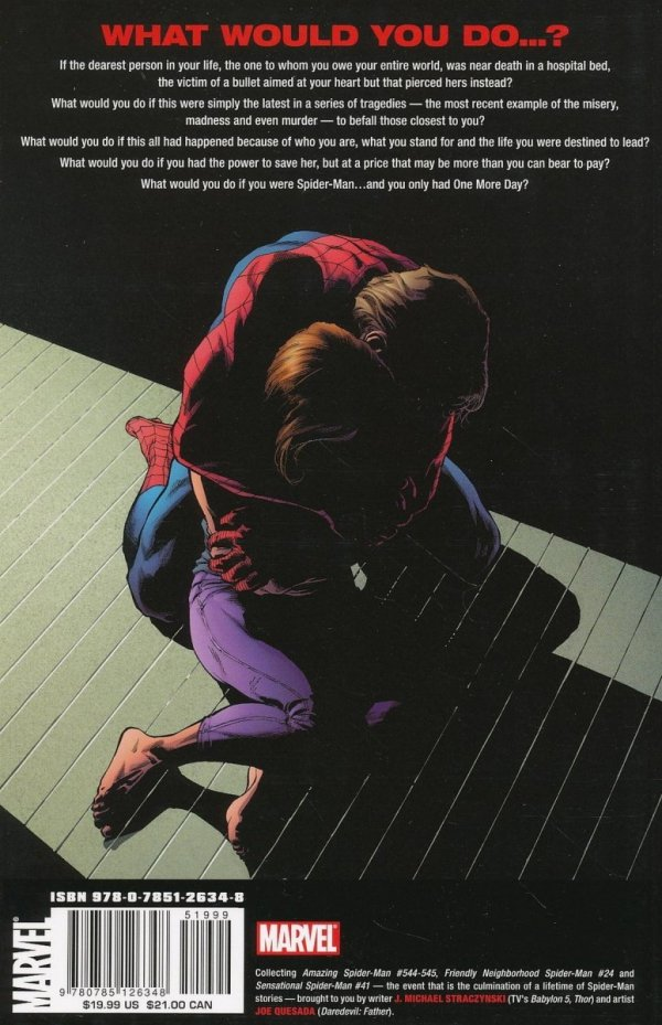SPIDER-MAN TP ONE MORE DAY