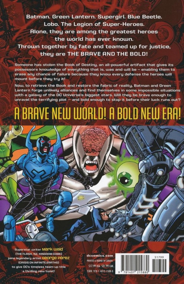 BRAVE AND THE BOLD VOL 01 THE LORDS OF LUCK SC