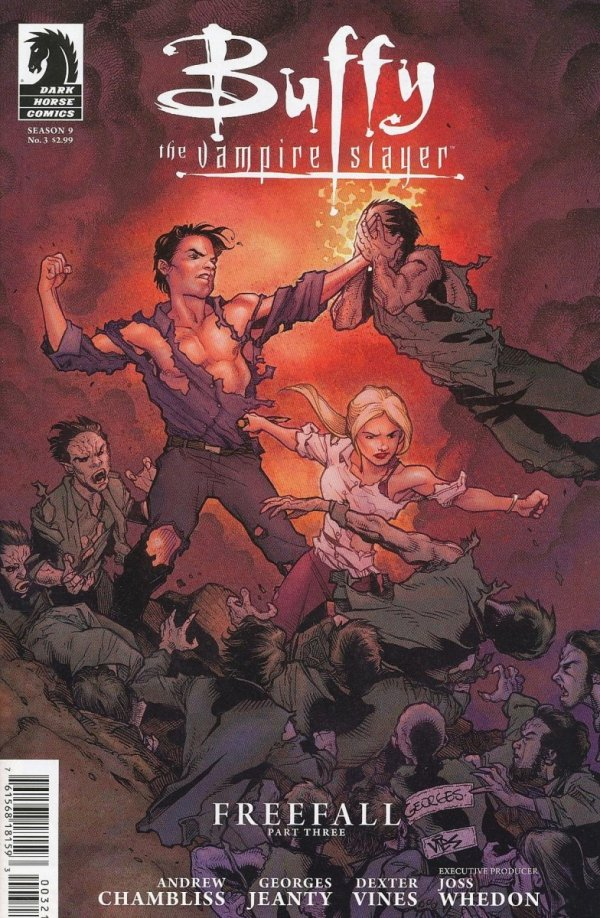 BUFFY THE VAMPIRE SLAYER SEASON 9 #3 VAR