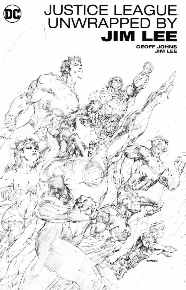 JUSTICE LEAGUE UNWRAPPED BY JIM LEE HC