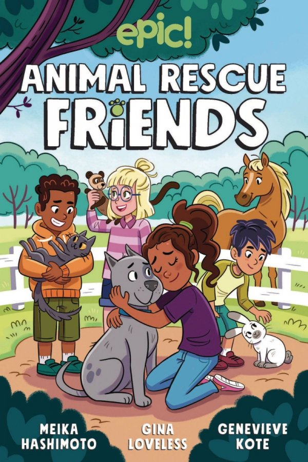 ANIMAL RESCUE FRIENDS HC GN