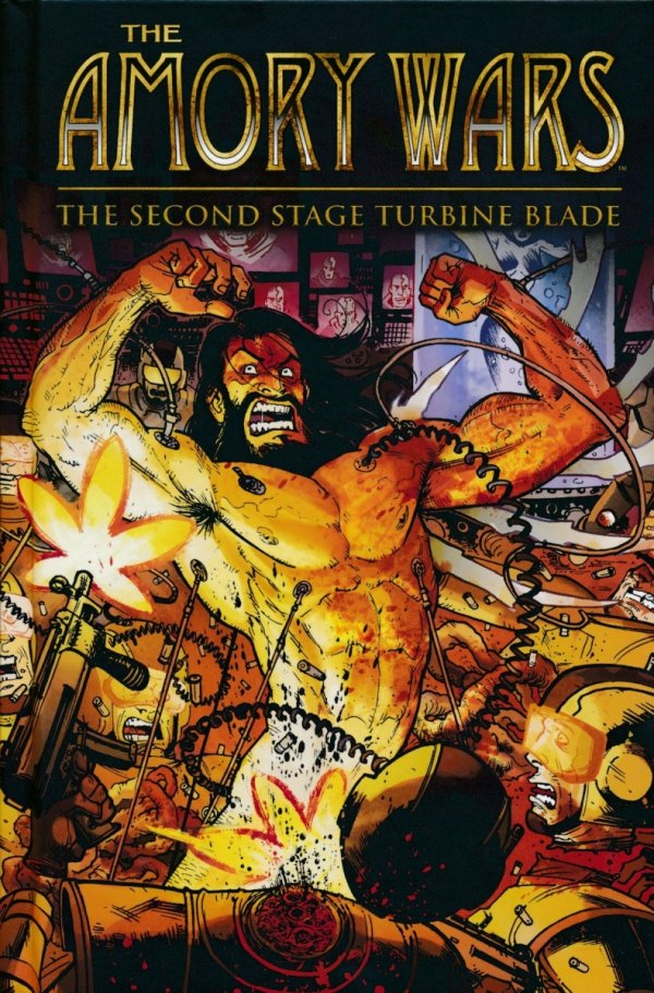 AMORY WARS THE SECOND STAGE TURBINE BLADE HC
