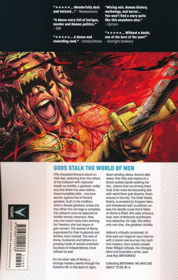 BRITANNIA VOL 02 WE WHO ARE ABOUT TO DIE SC