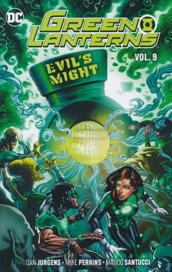 GREEN LANTERNS VOL 09 EVILS MIGHT SC