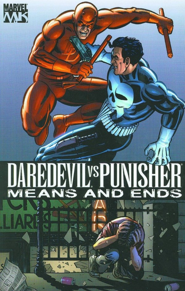 DAREDEVIL VS PUNISHER MEANS AND ENDS SC (OLD EDITION) *