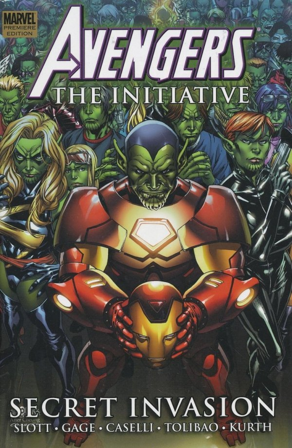 AVENGERS THE INITIATIVE VOL 03 HC