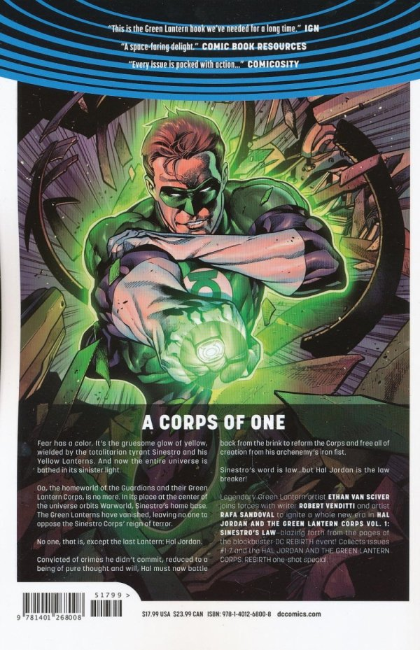 HAL JORDAN AND THE GREEN LANTERN CORPS VOL 01 SINESTROS LAW SC