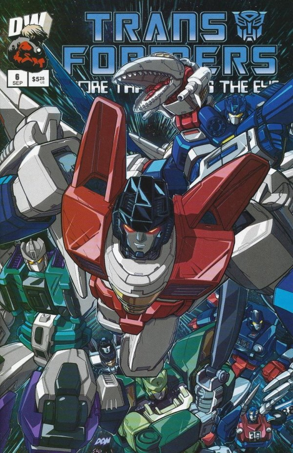 TRANSFORMERS MORE THAN MEETS EYE OFFICIAL GUIDE #6