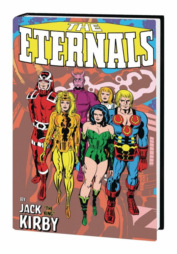 ETERNALS BY JACK KIRBY MONSTER-SIZE HC *