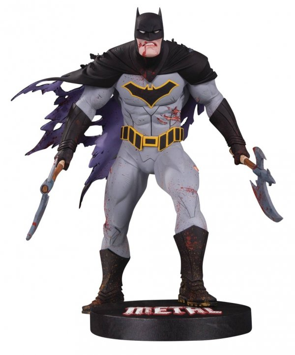 DC DESIGNER SERIES METAL BATMAN BY CAPULLO STATUE