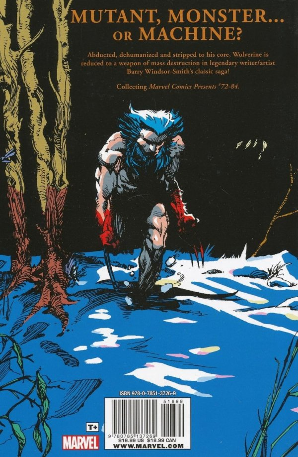 WOLVERINE WEAPON X SC (OLD EDITION)