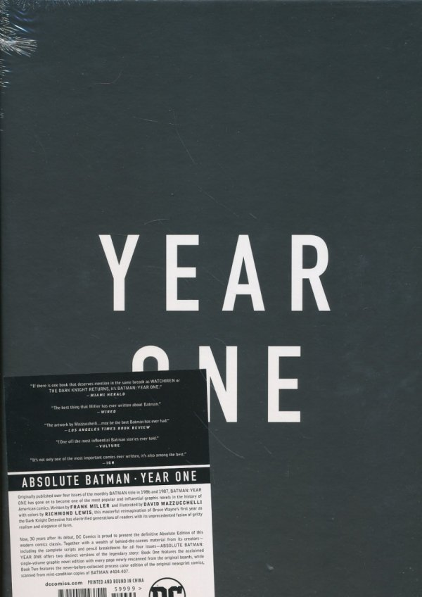 ABSOLUTE BATMAN YEAR ONE HC (BOX)