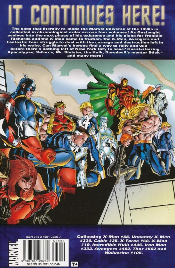 X-MEN THE COMPLETE ONSLAUGHT EPIC VOL 03 SC