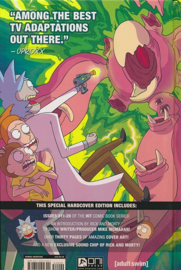 RICK AND MORTY VOL 02 HC