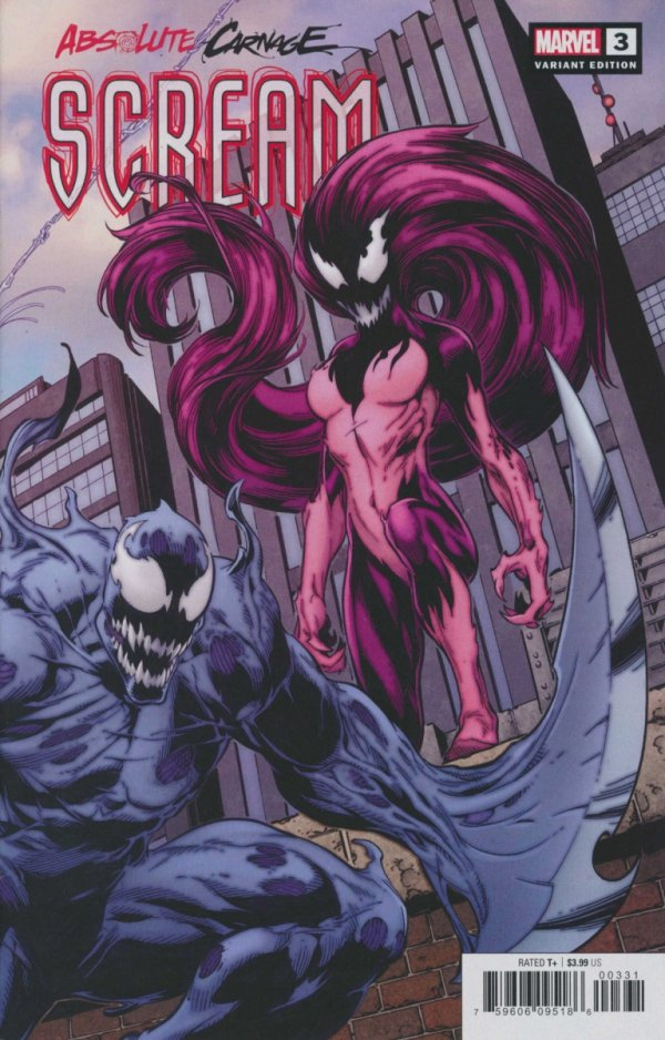 ABSOLUTE CARNAGE SCREAM #3 BAGLEY CONNECTING VAR