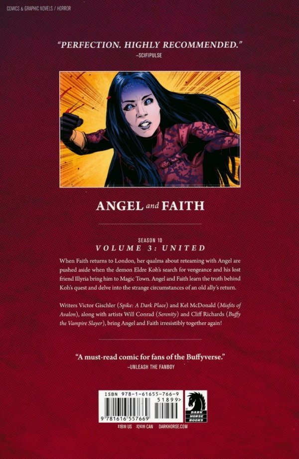 ANGEL AND FAITH VOL 03 UNITED SC