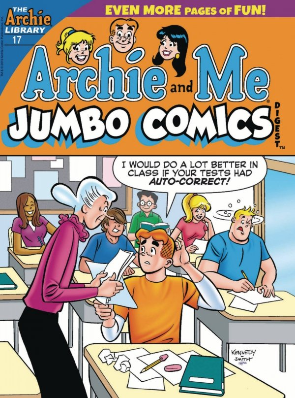 ARCHIE AND ME JUMBO COMICS DIGEST #17 *