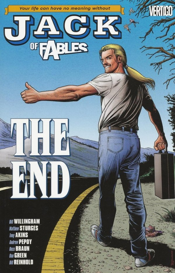 JACK OF FABLES VOL 09 THE END SC