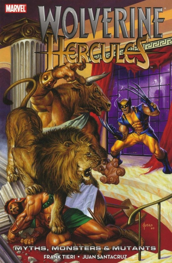 WOLVERINE HERCULES MYTHS MONSTERS AND MUTANTS SC