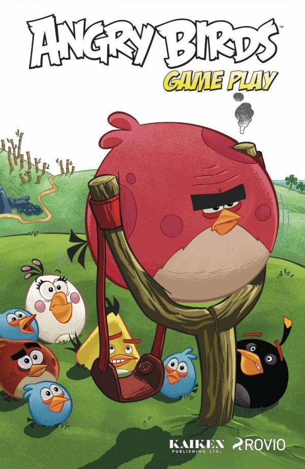 ANGRY BIRDS GAME PLAY HC *