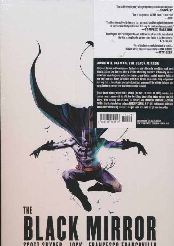 ABSOLUTE BATMAN THE BLACK MIRROR HC (BOX)