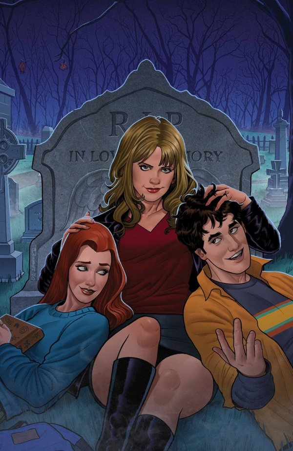BUFFY THE VAMPIRE SLAYER #25 CVR B QUINONES