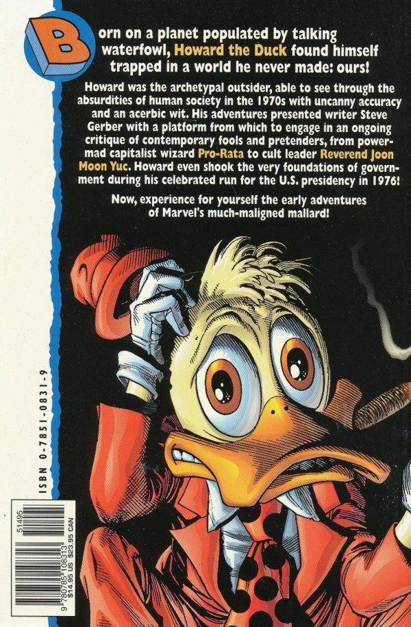 ESSENTIAL HOWARD THE DUCK SC *