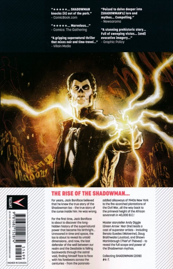 SHADOWMAN (2018) TP VOL 02 DEAD AND GONE