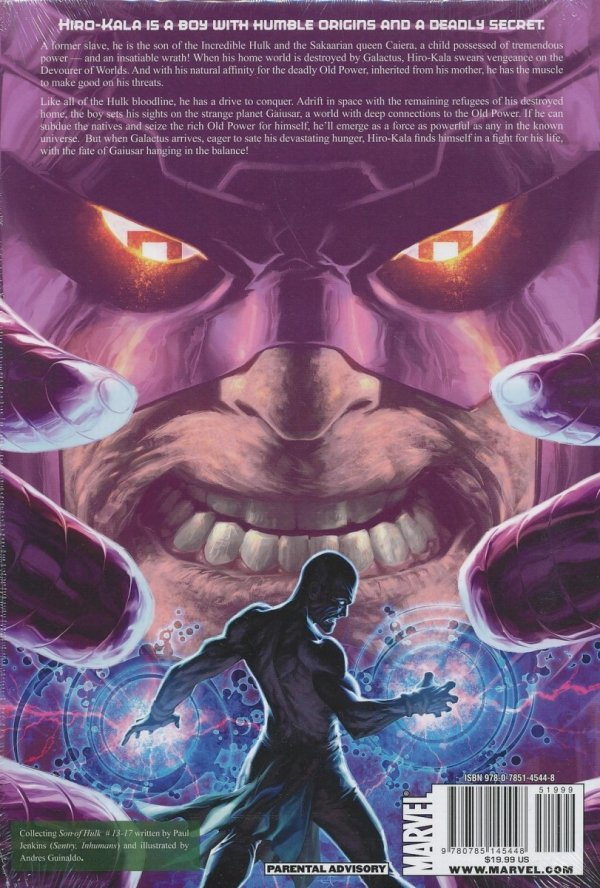 HULK SON OF HULK HC DARK SON RISING