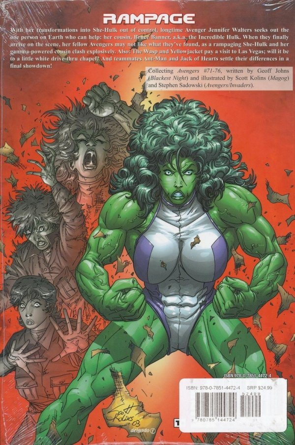 AVENGERS THE SEARCH FOR SHE-HULK HC (SUPERCENA)