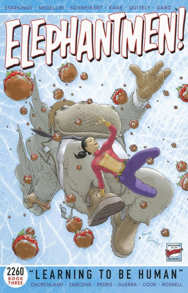 ELEPHANTMEN 2260 VOL 03 LEARNING TO BE HUMAN SC