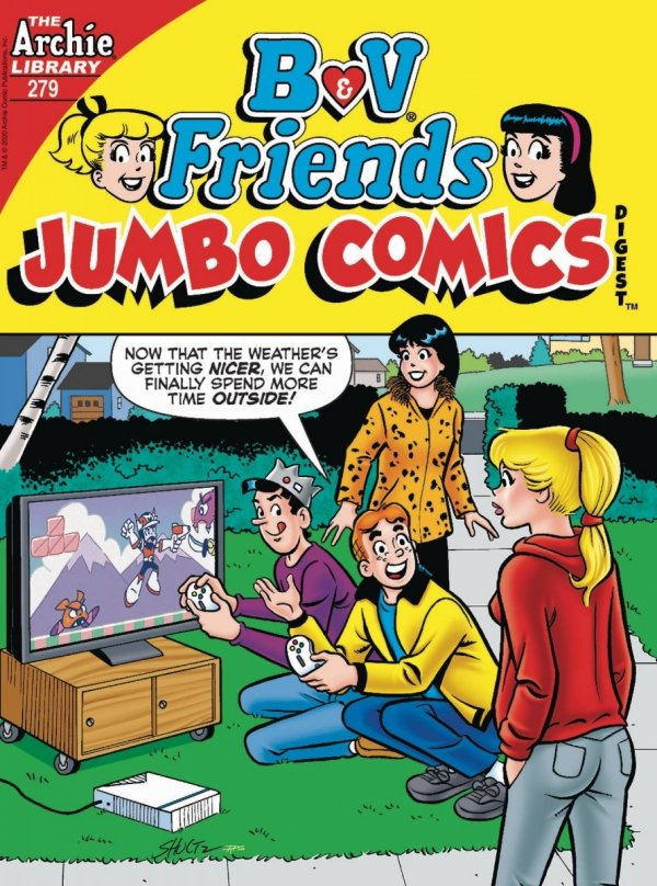 B AND V FRIENDS JUMBO COMICS DIGEST #279 (PREORDER) *