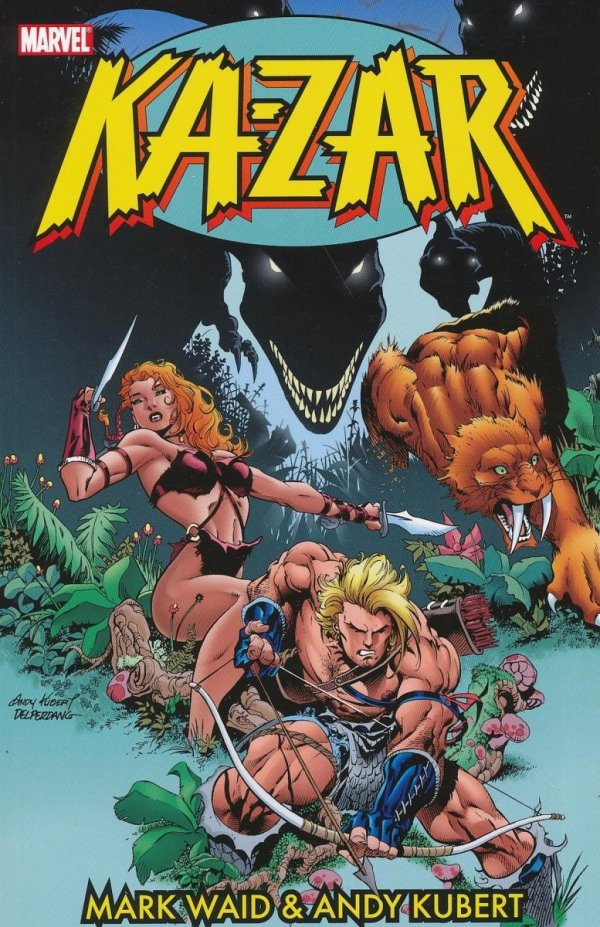 KA-ZAR BY MARK WAID & ANDY KUBERT TP VOL 01