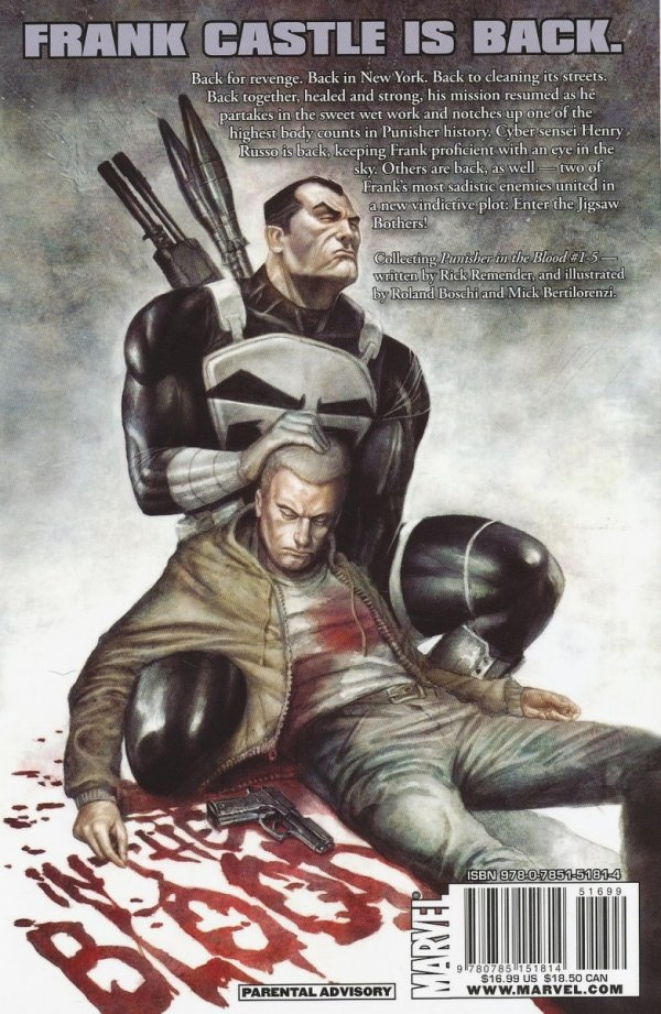 PUNISHER IN THE BLOOD SC