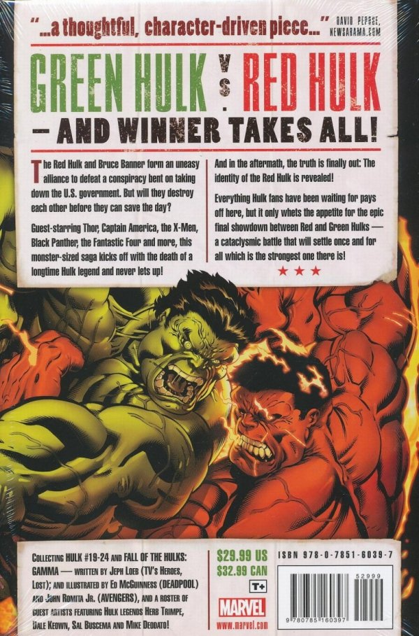 HULK WORLD WAR HULKS HC *