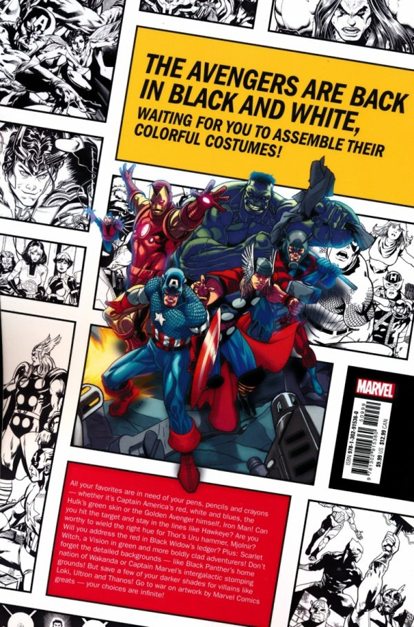 COLOR YOUR OWN AVENGERS EARTHS MIGHTIEST HEROES SC