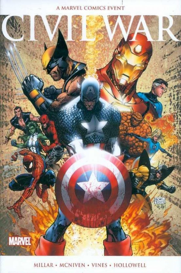 CIVIL WAR HC (OLD EDITION) (VARIANT COVER) **