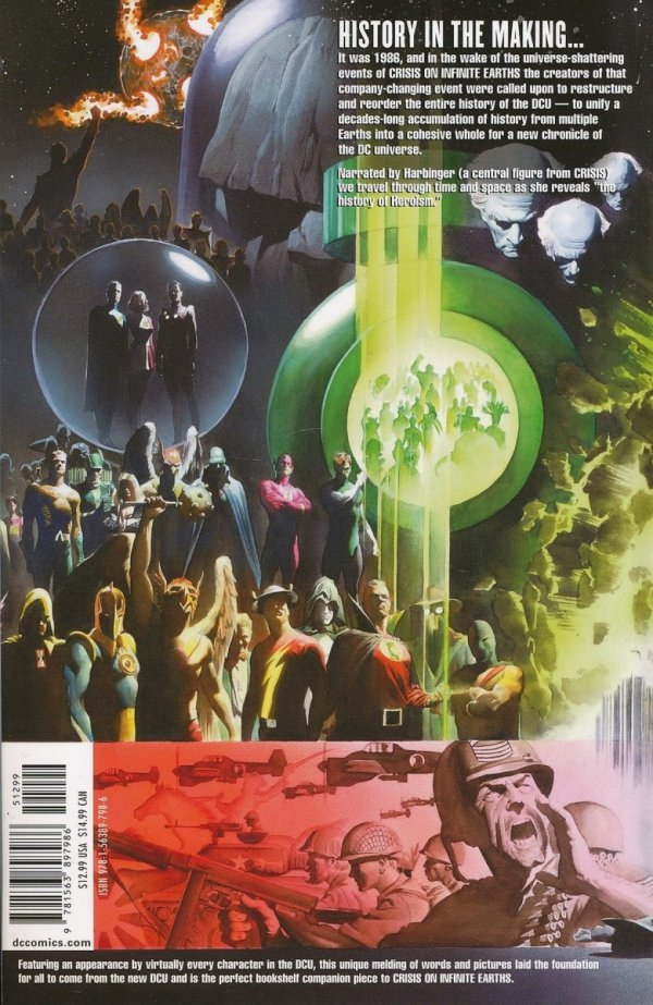 HISTORY OF THE DC UNIVERSE SC