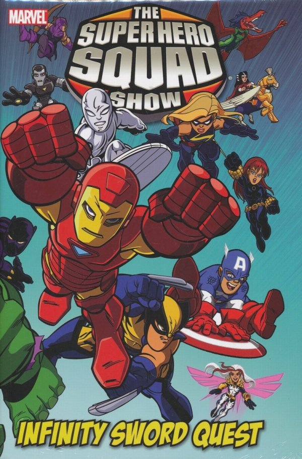 MARVEL SUPER HERO SQUAD INFINITY SWORD QUEST HC