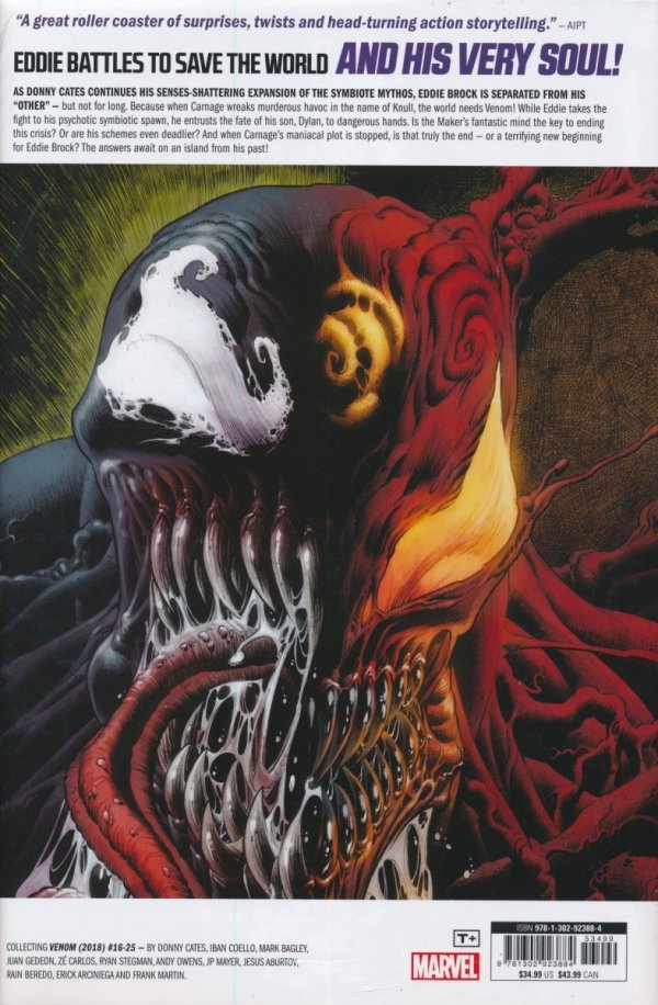 VENOM BY DONNY CATES HC VOL 02