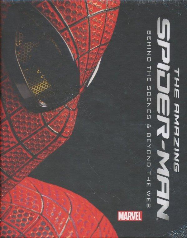AMAZING SPIDER-MAN BEHIND SCENES AND BEYOND WEB HC