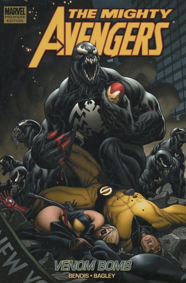 MIGHTY AVENGERS VOL 02 VENOM BOMB HC