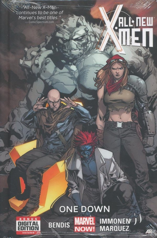 ALL NEW X-MEN PREM HC VOL 05 ONE DOWN