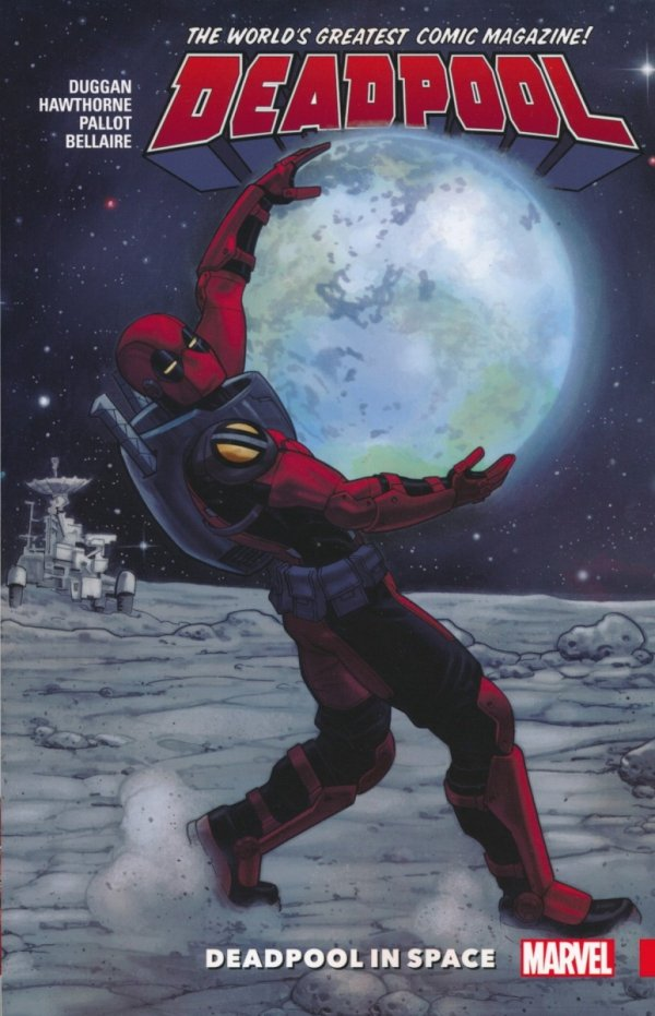 DEADPOOL WORLDS GREATEST VOL 09 DEADPOOL IN SPACE SC
